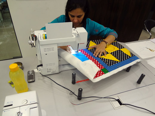 Picture: Get Creative ! Join the NEW patchwork,quilting and embroidery courses and workshops at the BERNINA C  112/139