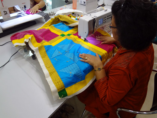 Picture: Get Creative ! Join the NEW patchwork,quilting and embroidery courses and workshops at the BERNINA C  115/139