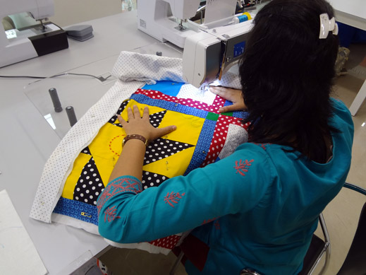 Picture: Get Creative ! Join the NEW patchwork,quilting and embroidery courses and workshops at the BERNINA C  116/139
