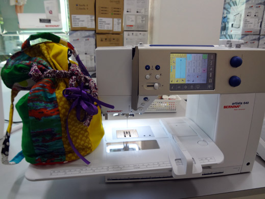 Picture: Get Creative ! Join the NEW patchwork,quilting and embroidery courses and workshops at the BERNINA C  129/139