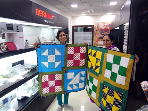 Picture: Get Creative ! Join the NEW patchwork,quilting and embroidery courses and workshops at the BERNINA C  130/139