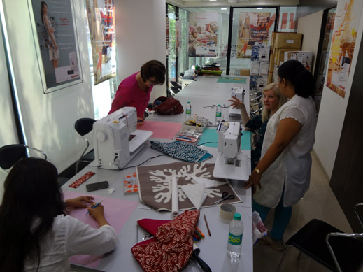 Picture: Get Creative ! Join the NEW patchwork,quilting and embroidery courses and workshops at the BERNINA C  132/139