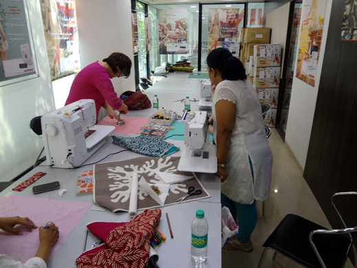 Picture: Get Creative ! Join the NEW patchwork,quilting and embroidery courses and workshops at the BERNINA C  133/139