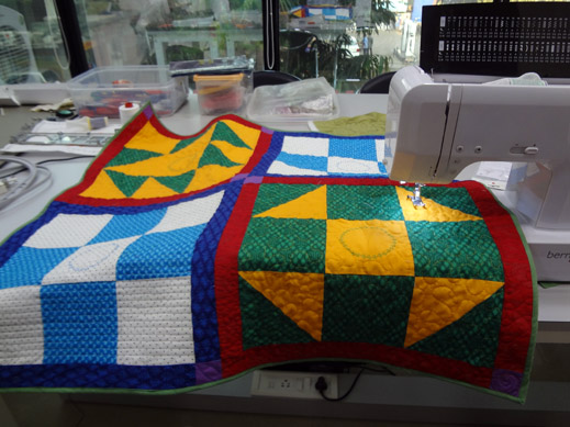 Picture: Get Creative ! Join the NEW patchwork,quilting and embroidery courses and workshops at the BERNINA C  138/139