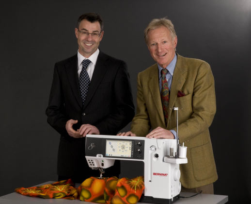 Picture: Launch of the BERNINA 830: BERNINA presents a new first-class sewing and embroidery system  3/11