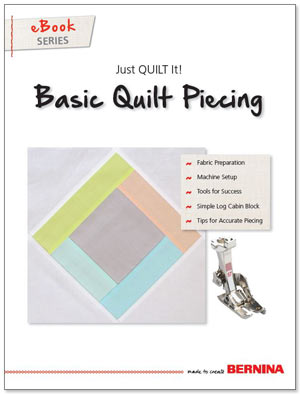 Just Quilt It - eBook: Basic Quilt Piecing