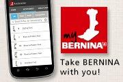 Take BERNINA with you! my BERNINA Accessory App