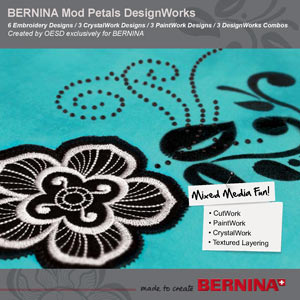 Mod Petals – DesignWorks Collection 21011DW