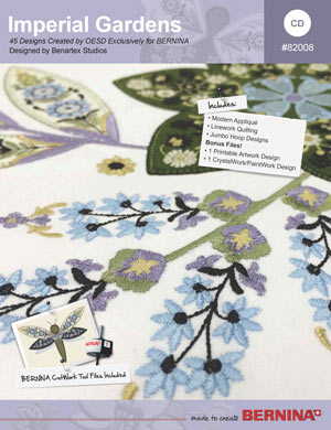 Imperial Gardens – BERNINA Embroidery Collection #82008