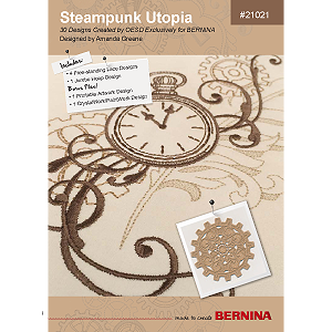 Steampunk Utopia – BERNINA Embroidery Collection #21021