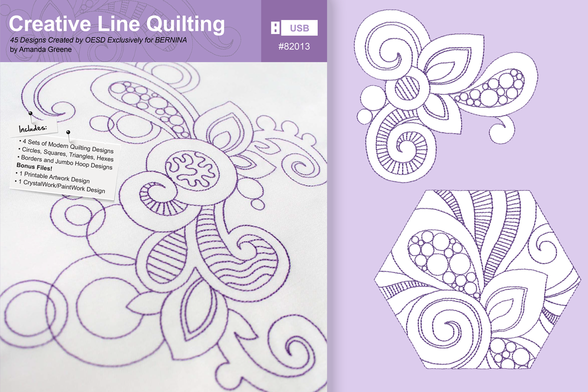 Creative Line Quilting Crafter's Collection #82013