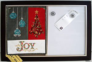 BERNINA Embroidery Software 6 - JOY Mini Wall Hanging