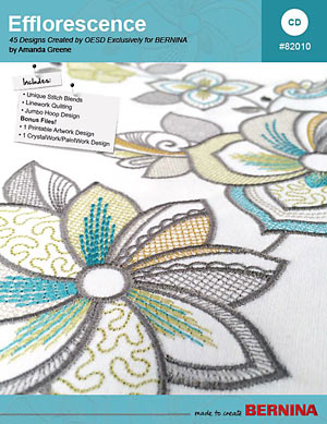 Efflorescence – BERNINA Embroidery Collection #82010