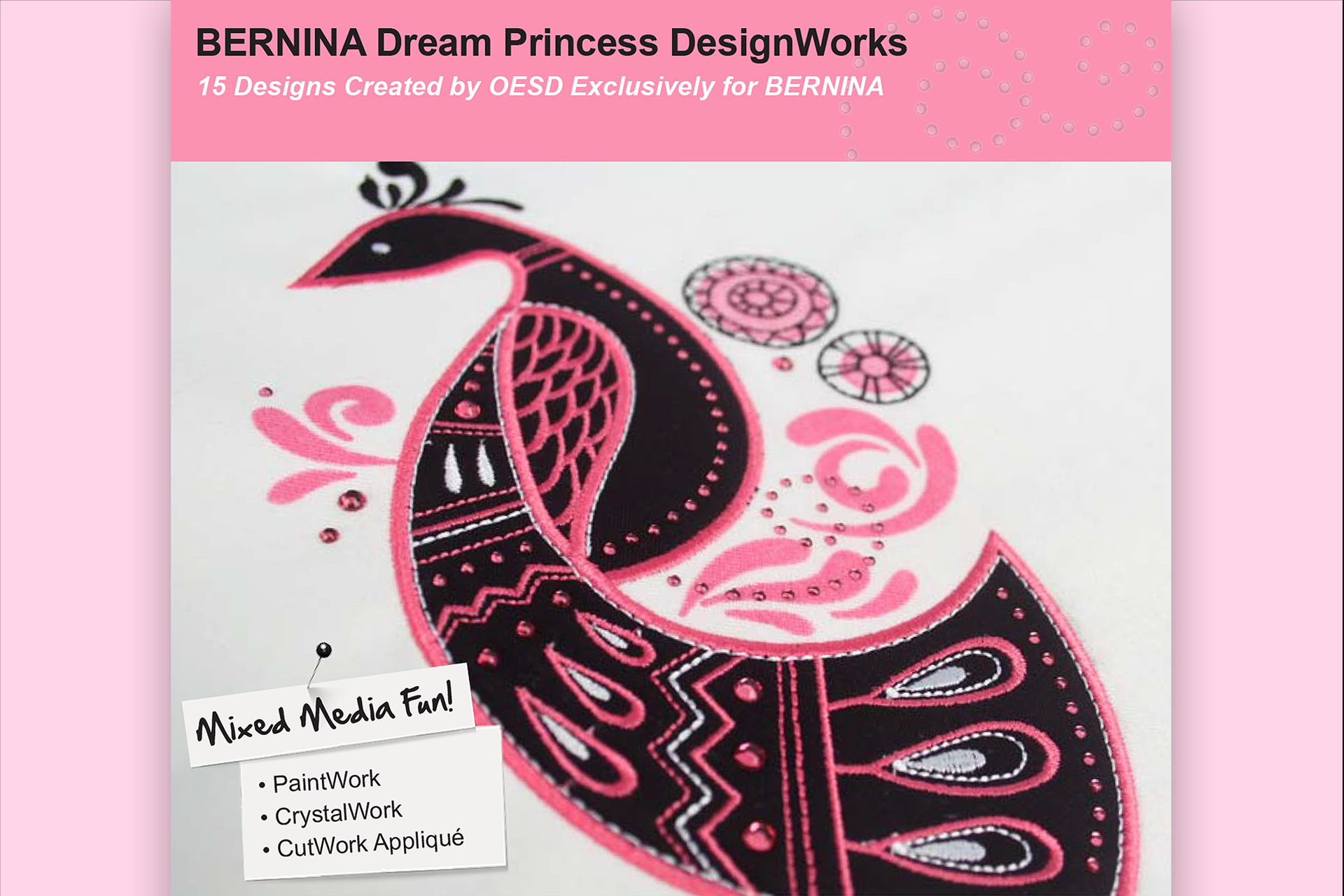 Dream Princess – BERNINA DesignWorks Collection #21026