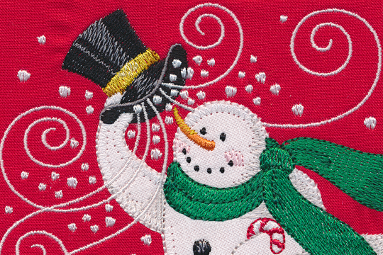 Merry Holiday – BERNINA Exclusive Embroidery Collection #80116
