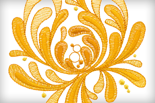 Sunshine Couture – BERNINA Exclusive Embroidery Collection #82016