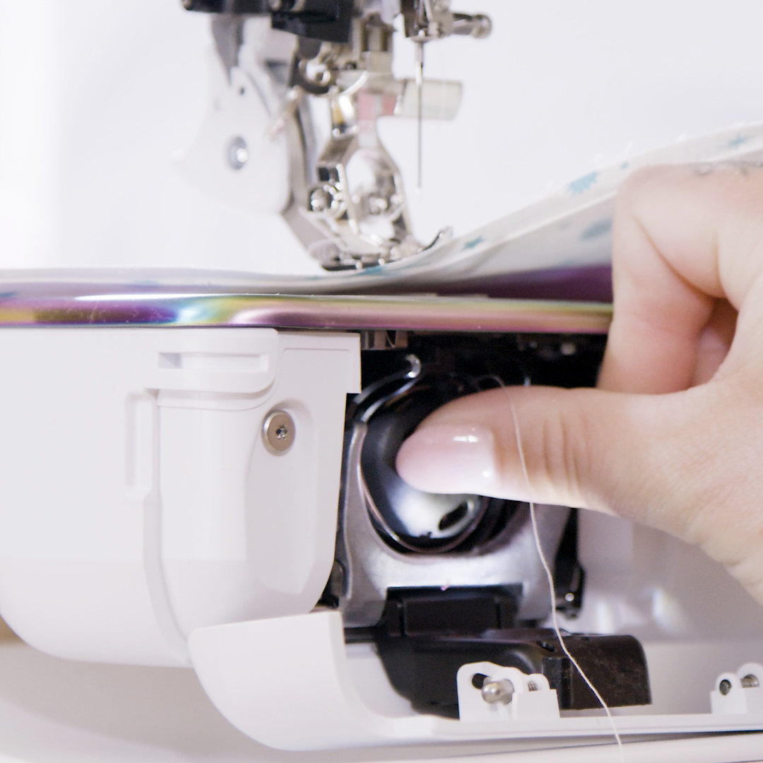 Quiet and precise sewing