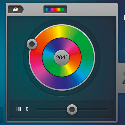 The new Color Wheel