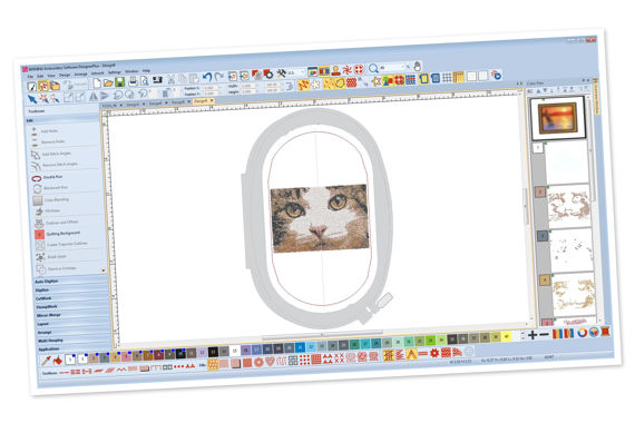 Picture: Embroidery Software 8 - Designer Plus
