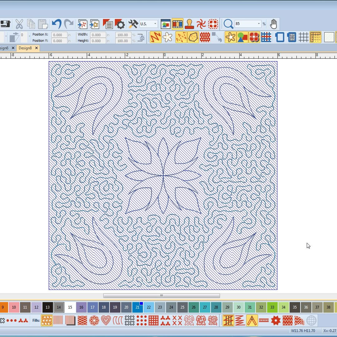 Automated Quilt Block Layout