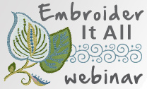 BERNINA Embroidery Design Studio Webinar -  Register Now!