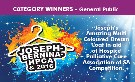 General Public Winners - Joseph Multi-Coloured Dream Coat Competition