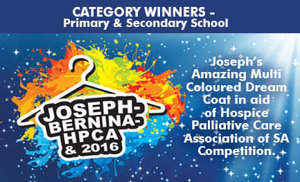 Primary & Secondary School Winners - Joseph Multi-Coloured Dream Coat Competition