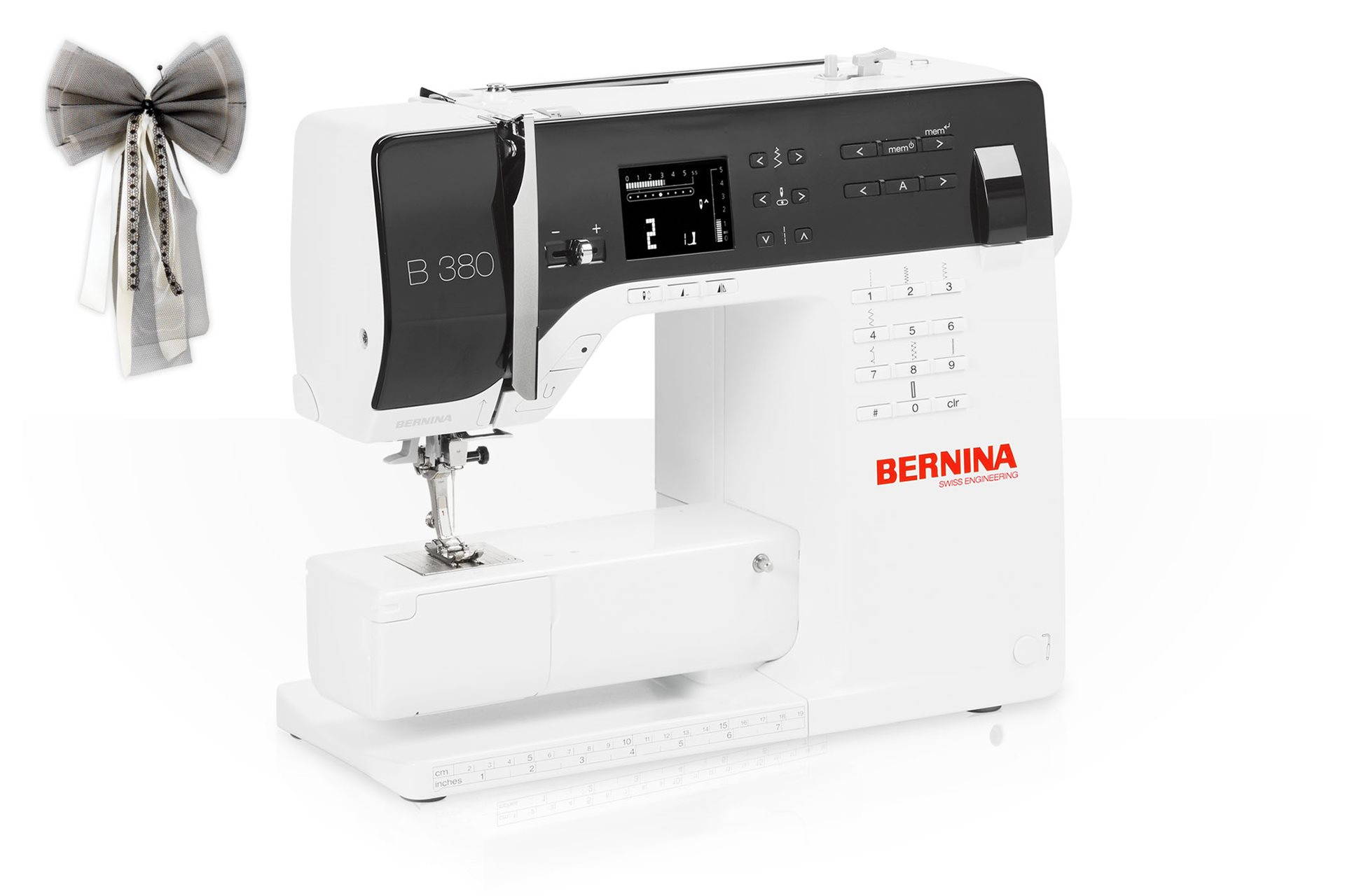 The BERNINA 380 – perfect in form and function - BERNINA