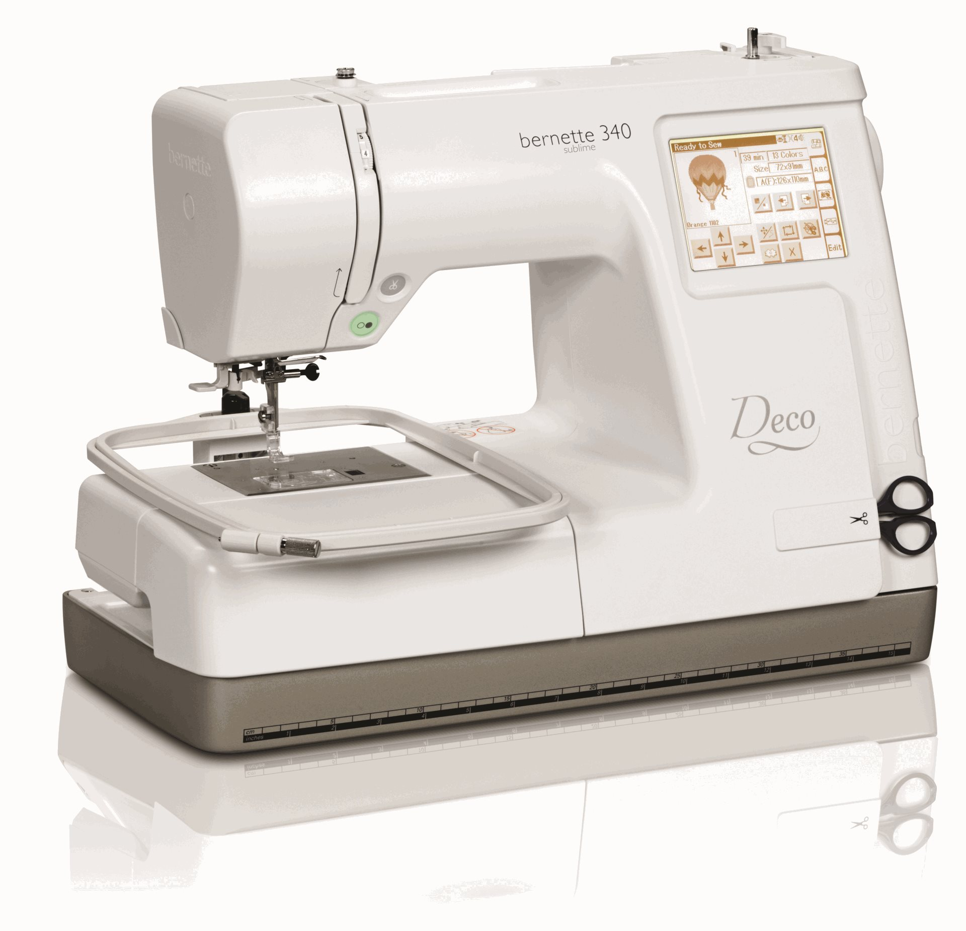 bernina deco embroidery machine