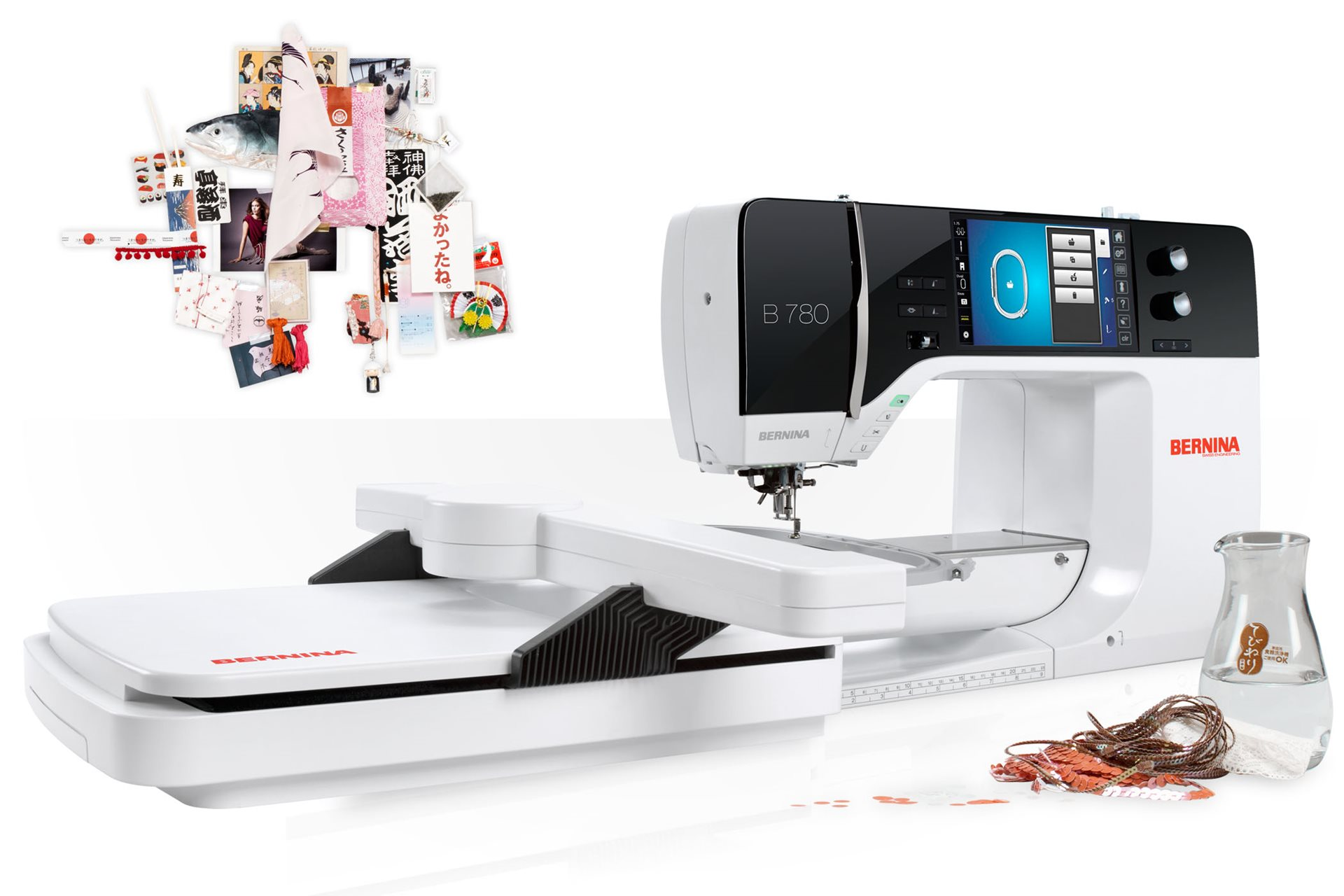 BERNINA 790 PLUS - la mejor para coser y bordar - BERNINA