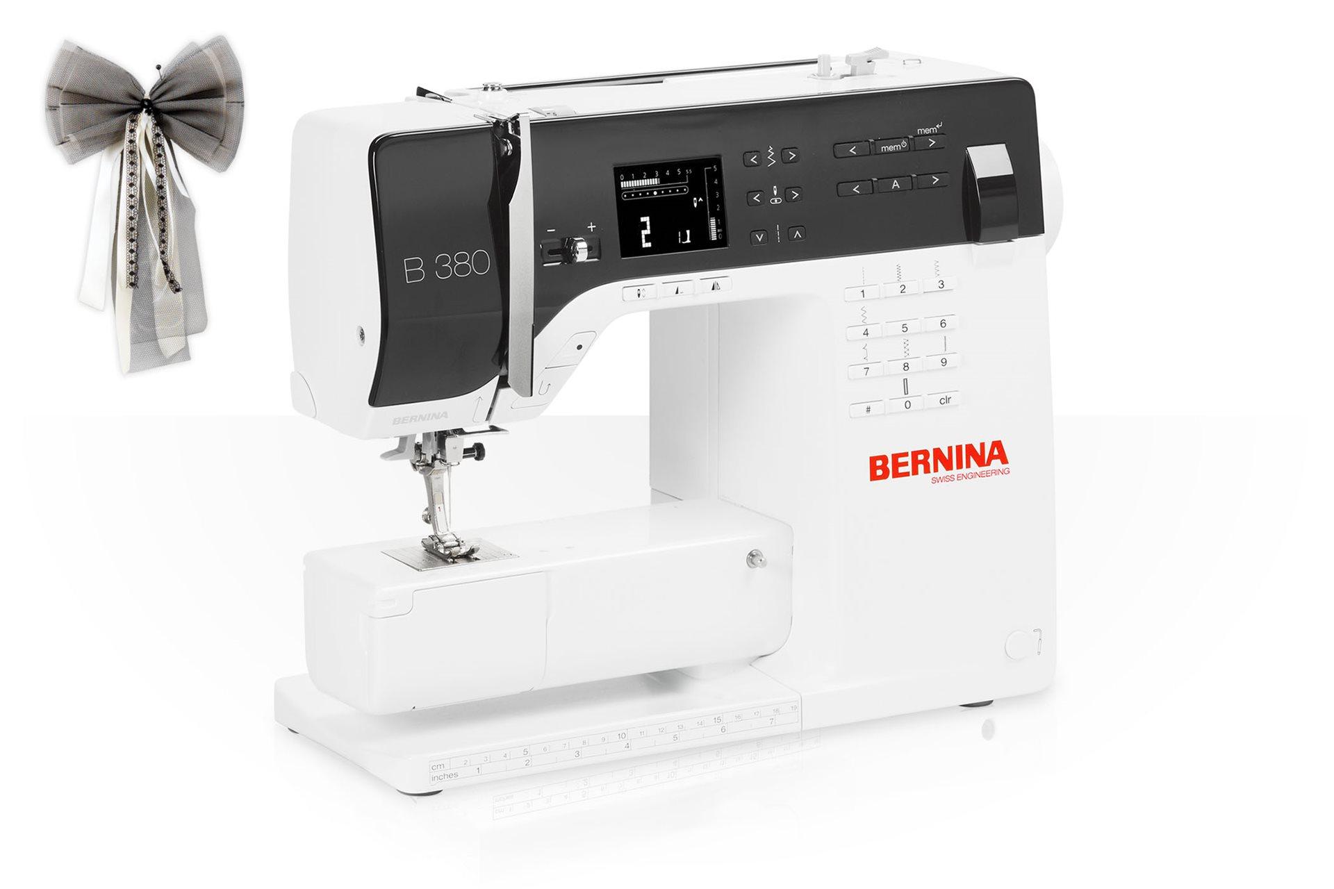 BERNINA 380 - Tutoriales - BERNINA