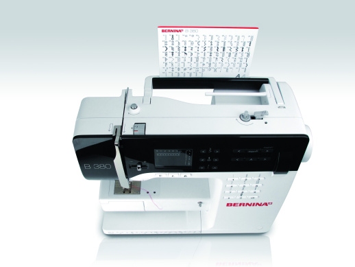 Bild: The new BERNINA 3 Series - the sewing machines conquers the catwalk  4/5