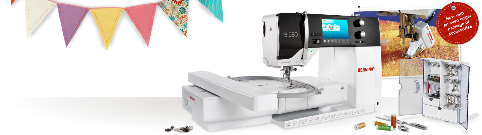 Picture: BERNINA 580