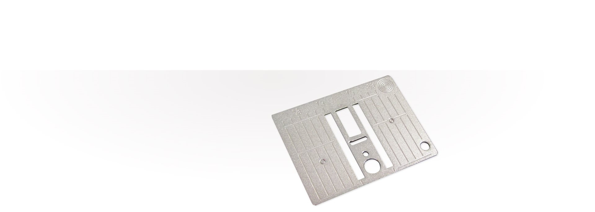 Bild: 5.5 mm Stitch plate for needle-punch tool (CB hook)