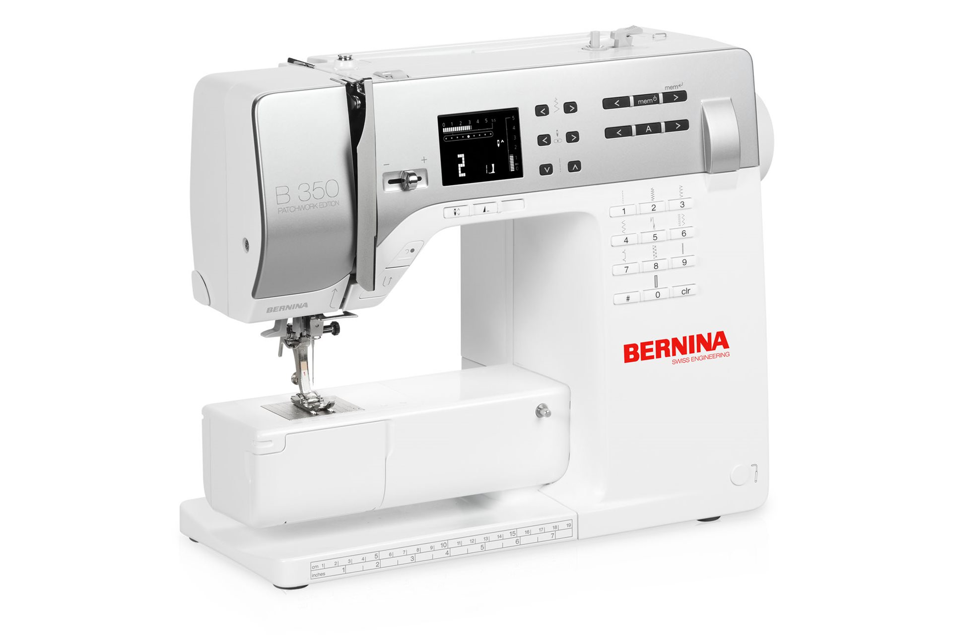 bernina 350 pe support bernina
