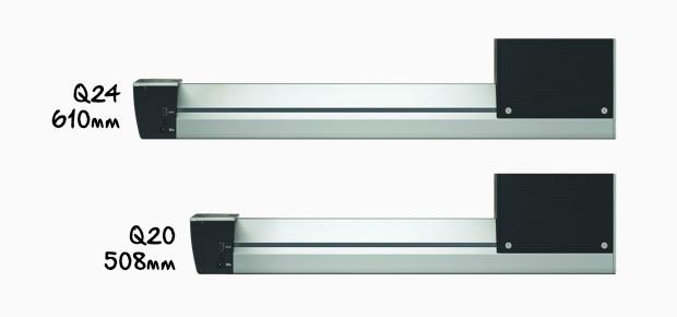 BERNINA Longarm Quilting Machine Q 24 & Q 20 on frame - BERNINA
