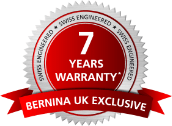 BERNINA UK - Warranty emblem